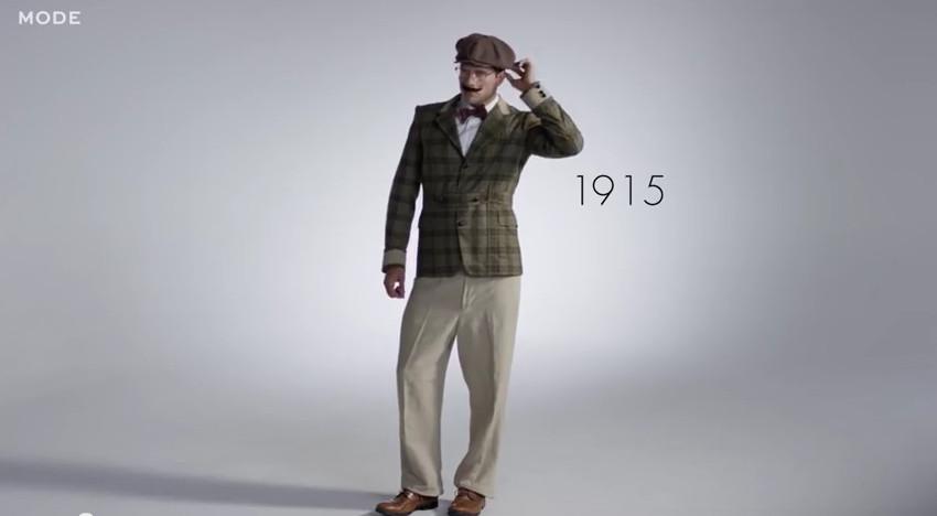 moda in 100 ani