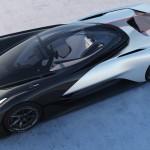 Mașina electrică concept cu 1000 cai putere