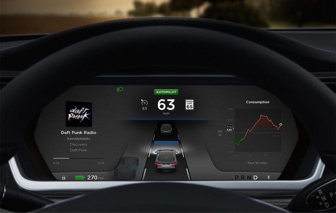 Opțiunea Autopilot de la Tesla a salvat viata unui om!