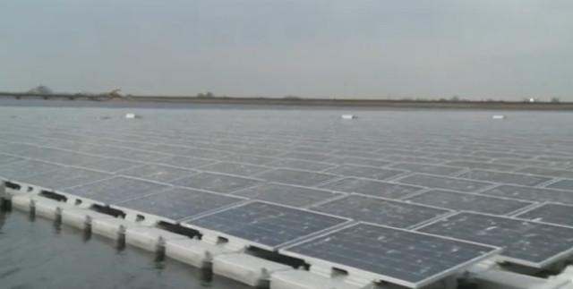 Cel mai mare parc plutitor cu panouri solare din Europa se află în Anglia!