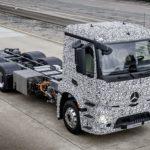 Daimler prezintă primul TIR electric