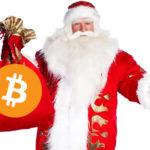 """Moș Crăciun s-a """"deghizat"""" în bitcoin?"""