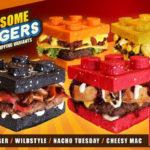 Hamburgheri în formă de LEGO