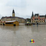 Imagini panoramice – Targul de Paști din Oradea – Piața Unirii