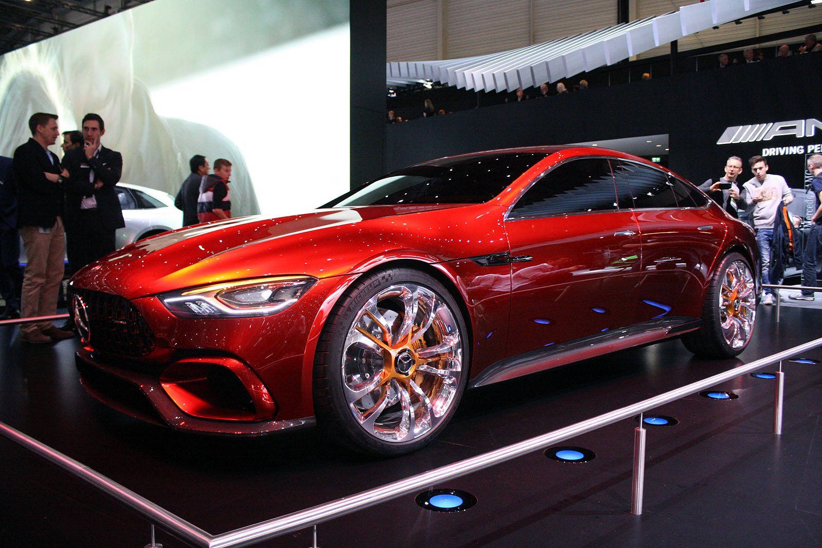 Mercedes amg gt concept 805 cp testat n rom nia for New concept mercedes benz