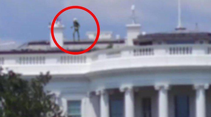 Un extraterestru a fost zarit pe acoperișul Casei Albe