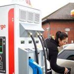 Moment istoric: prima stație de încărcare pentru mașinile electrice de la Shell