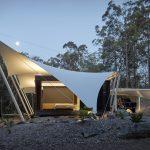 Casa Tent – cu acoperiș retractabil