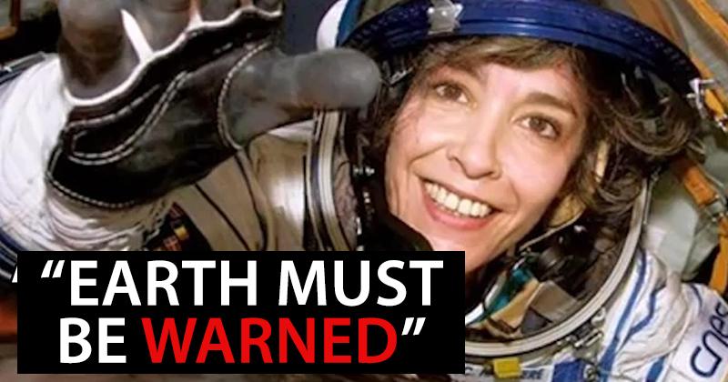 O astronaută de origine franceză avertizează asupra existenței extratereștrilor