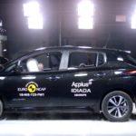 Noul Nissan LEAF a obținut 5 stele la testele Euro NCAP (2018)