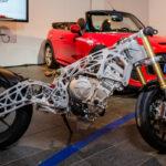 BMW imprimă 3D cadrele metalice pentru motociclete