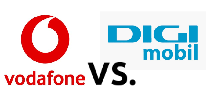 Abonament business cu Huawei P20 Lite la Vodafone vs  DIGI