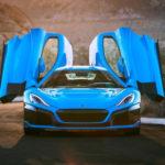 Cea mai rapidă mașină electrică a momentului, Rimac C_Two California Edition a fost prezentată în Los Angeles