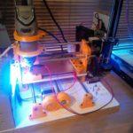 Mașină CNC sub 200 USD realizată din piese imprimate 3D!