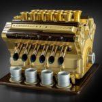 Motorul V12 care prepară cea mai scumpă cafea din lume!