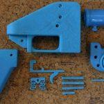 Pistol cu un singur glonț imprimat 3D