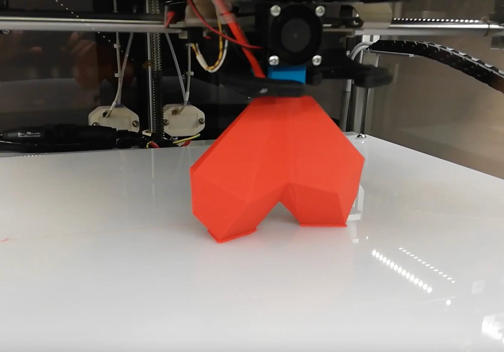 Cum construiește o imprimantă 3D un obiect?