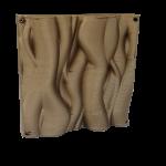 Element decorativ pentru perete cu formă organică imprimat 3D