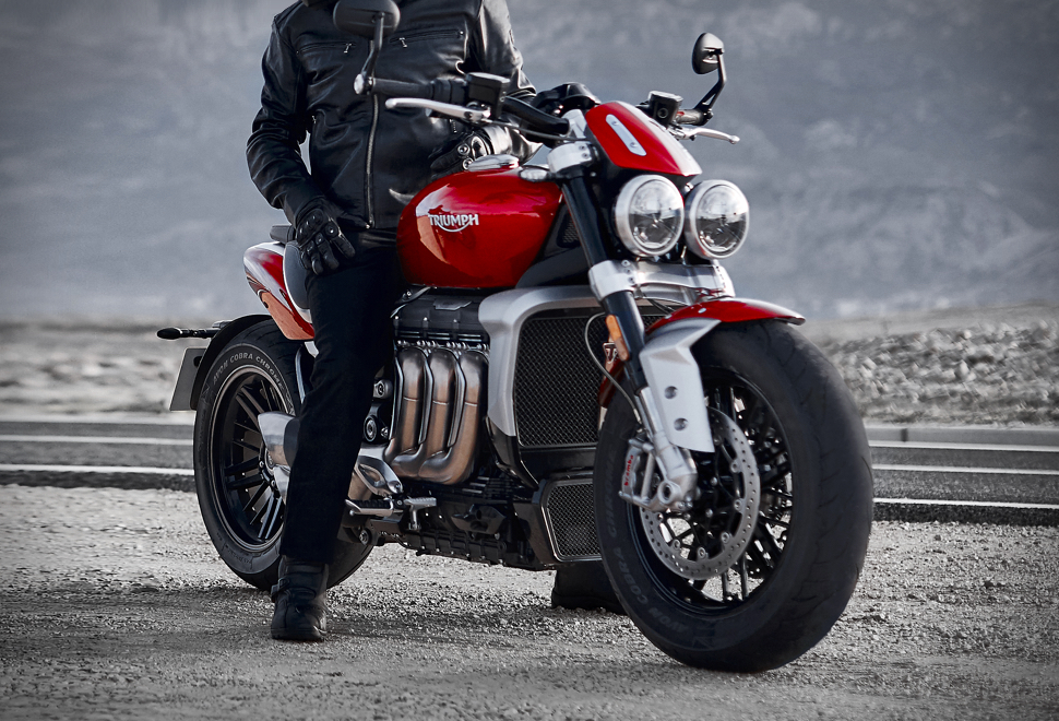 Triumph Rocket 3 – motocicleta cu cel mai mare motor termic din lume!