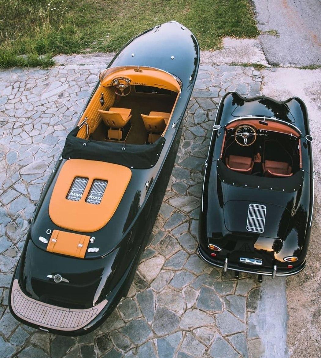 Cea mai eficientă barcă din lume este inspirată după Porsche 356 din 1950!