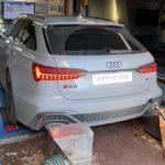 """Audi face eforturi intense pentru a rămâne """"după"""" Tesla Model S, RS6 a fost tunat până la 787 CP"""