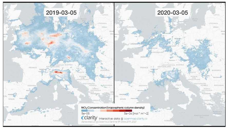 COVID-19 a redus vizibil poluarea!