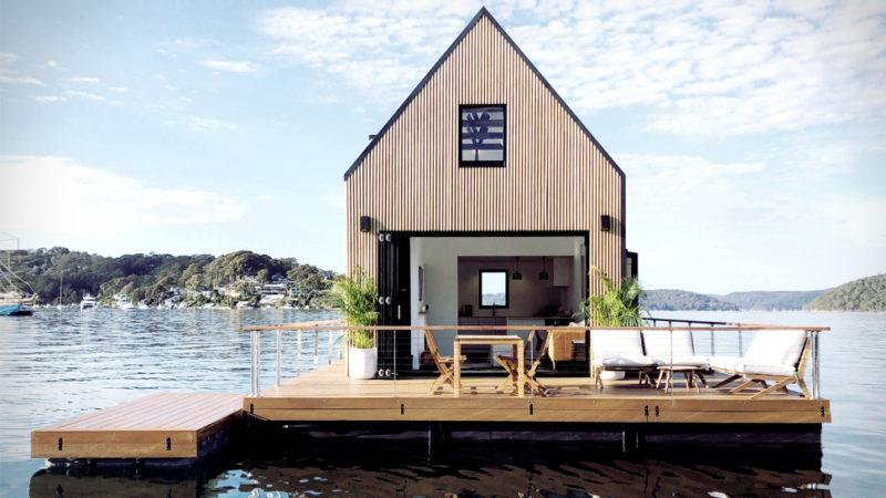 Casa plutitoare Lilypad