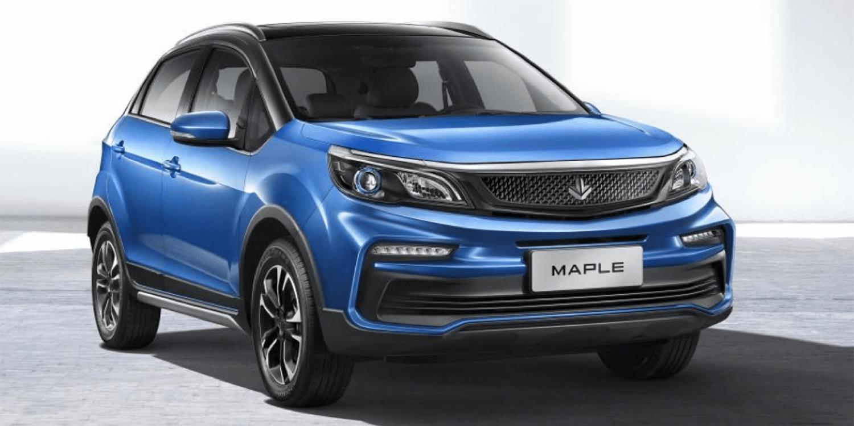 Crossoverul electric Maple 30X se află sub bariera de 10.000 USD