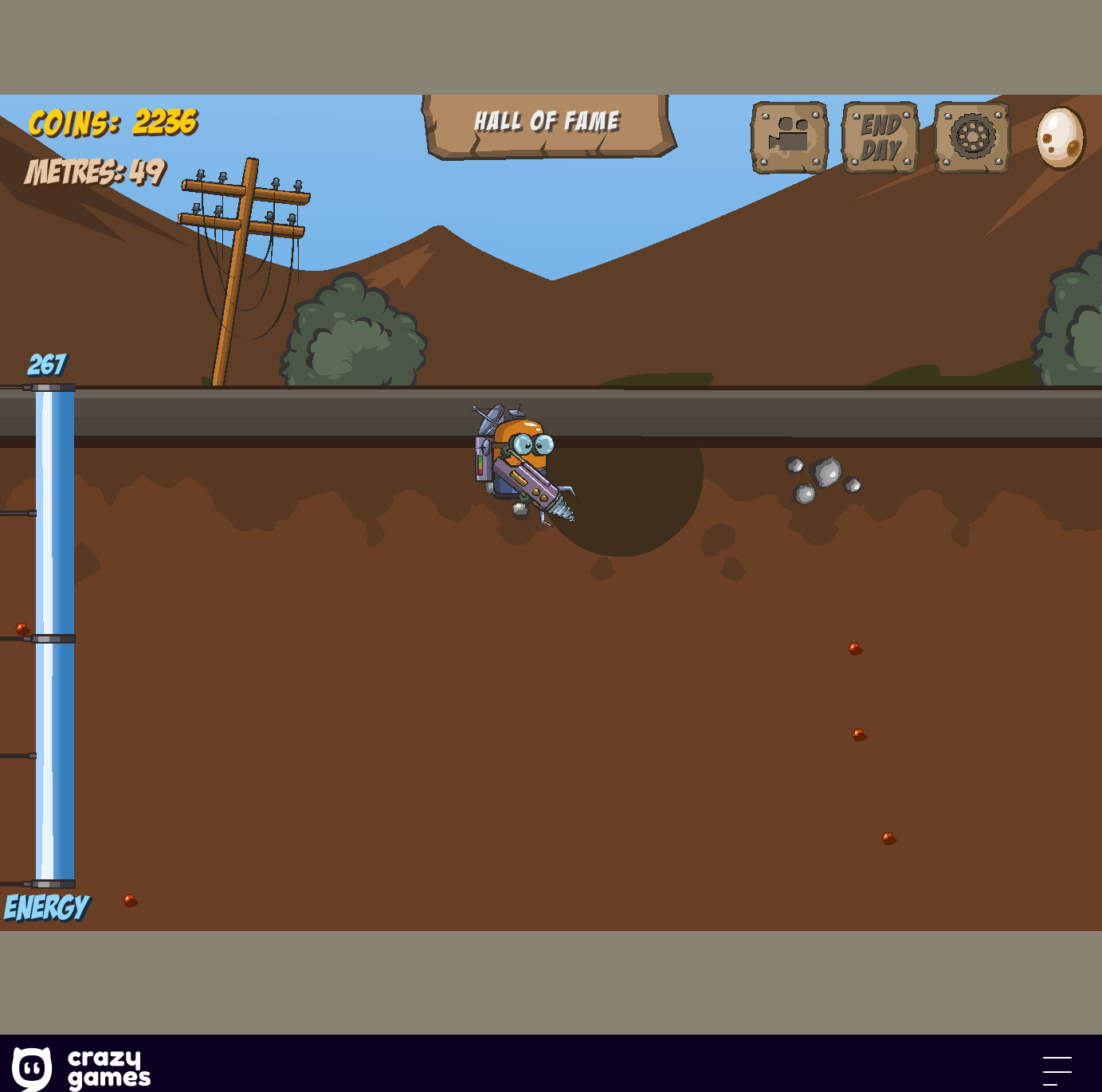 Diggy – aventura 2D începe săpând!