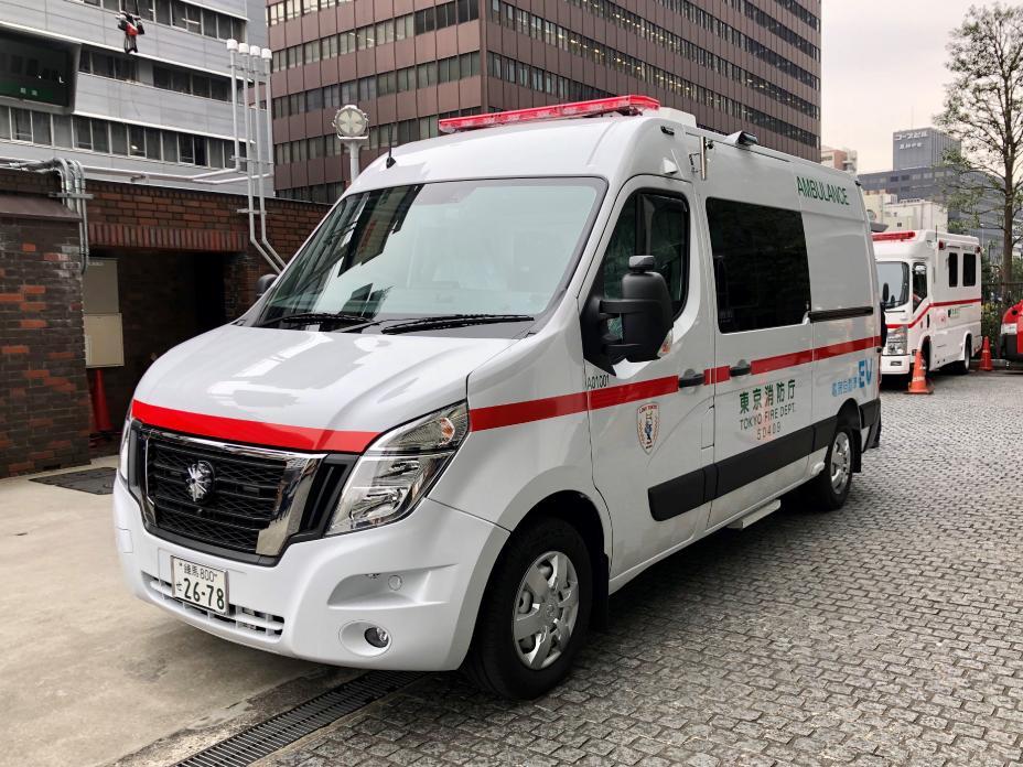 "Ambulanța electrică Nissan devine parte a inițiativei japoneze ""Zero Emission Tokyo"""